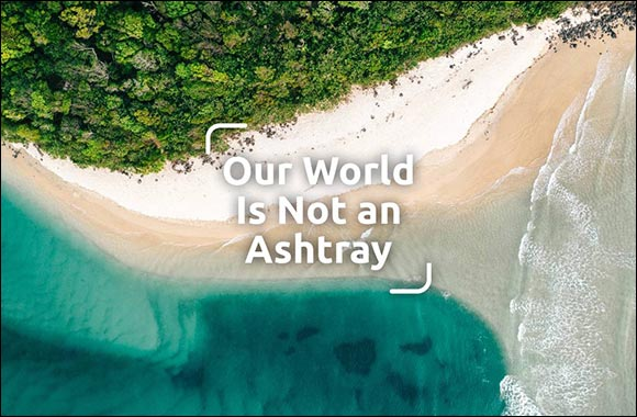 """""""Our World Is Not an Ashtray"""": Philip Morris Launches Initiative to Reduce Plastic Litter From Products by 50 Percent by 2025"""