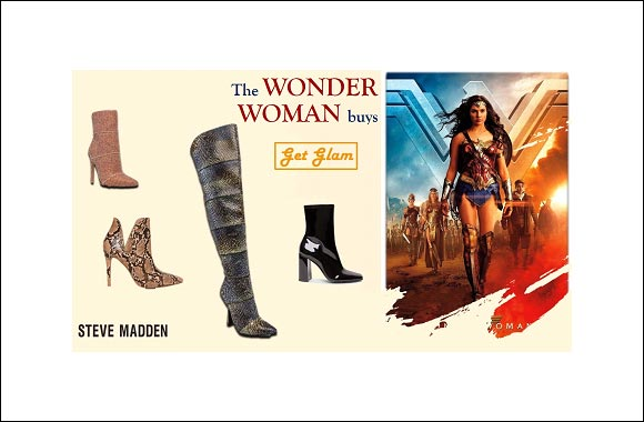 The Wonder Woman buys from Steve Madden