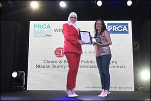 Cicero & Bernay Wins PRCA Award for Best Use of Reporting and Measurement for Programmatic PR Campai ...