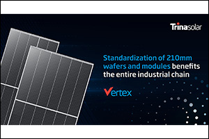 Trina Solar Proposes Joint Initiative to Promote the Standardization of 210mm-Size Silicon Wafer, Mo ...
