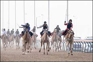 Chinese Expat Wins Preparatory Race for Camel Trek Marathon in Dubai
