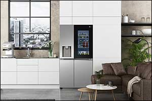 New LG Instaview Refrigerators Demonstrate Hygiene Innovation at CES 2021