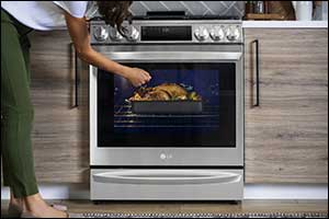 LG's Instaview� Range With Air Sous Vide Is the Oven Home-gourmands Have Been Waiting for
