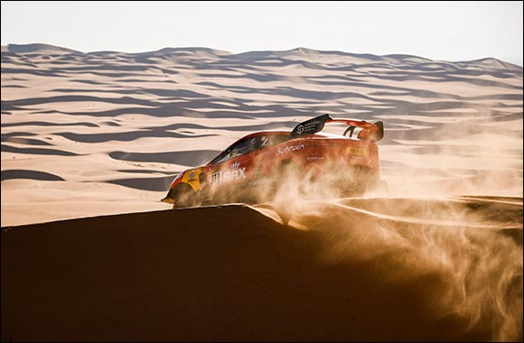 Roma and Loeb Put Bahrain Raid Xtreme in the Top Ten After Dakar Rally Desert Stage