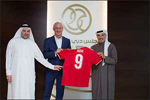 Liverpool Legend Ian Rush visits Dubai Sports Council, Discusses Starting Projects in Dubai