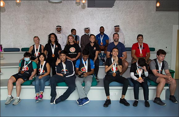 Dubai Sports Council honours Heroes of Hope and their Athletes of Determination for participation in December's Hatta Garmin Quest