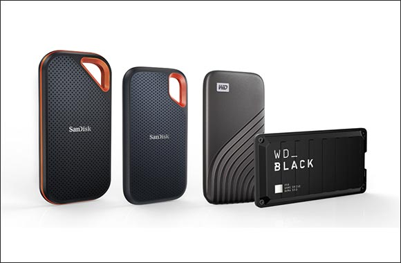 Western Digital Delivers Unmatched Line Up of High-capacity Portable SSDS Across Its Renowned Consumer Brand Portfolio