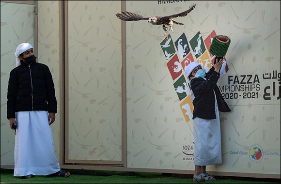 Young Emiratis Keep Sport of Falconry Soar High