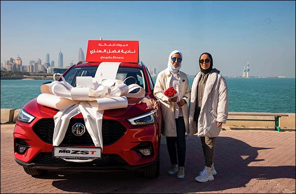 MG Celebrates Middle East Success of new 2021  MG ZST with MAX Power, MAX Tech & MAX Thrill Campaign