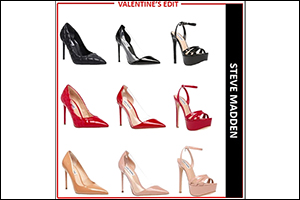 Red, Blush and Black - Steve Madden Is Ready to Celebrate Valentine's Day With the Quintessential Co ...