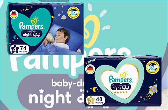 Pampers Introduces the First Diaper Designed for Nighttime Wetness Protection and Un-interrupted Sleep