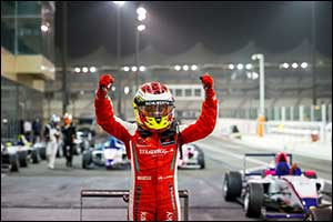 Hamda Al Qubaisi Victorious During Round 2 of F4 UAE at Yas Marina Circuit
