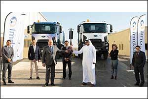 Al Tayer Motors Delivers Ford Trucks' Vehicles to Imdaad