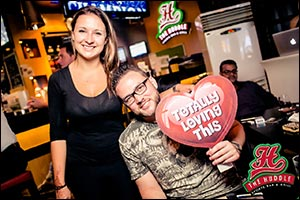 Shred Your Ex This Valentines Day With Citymax's Huddle Sports Bar and Grill