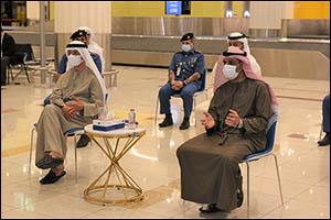 Chairman of DP World visits Dubai International Airport