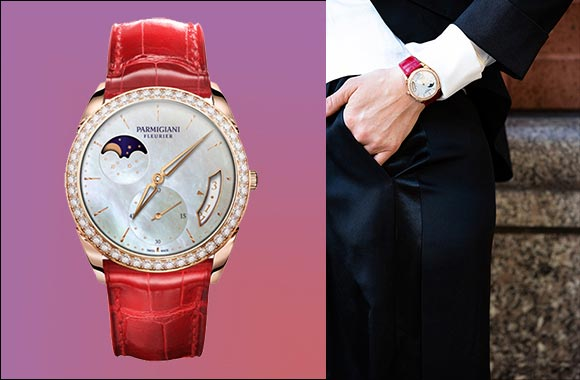 Tonda 1950 Lune timepiece makes an extraordinary Valentine's Day gift