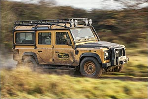 Adventure-ready Land Rover Defender Works V8 Trophy Celebrates Expedition Legacy With Unique Experie ...