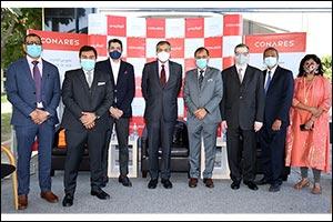 Expo Dubai India Pavilion Delegation Visits Conares Headquarters-