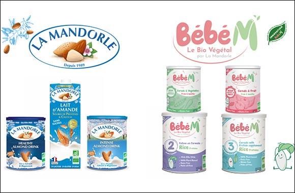 100% Organic and Plant Based brands La Mandorle & Bebe M exhibiting at Gulfood 2021