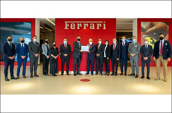 Al Tayer Motors Wins Ferrari's Prestigious 'Best Importer' and 'Best Showroom Experience' Awards for the Second Consecutive Year