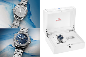 Introducing the OMEGA Seamaster Diver 300M �Beijing 2022� Special Edition
