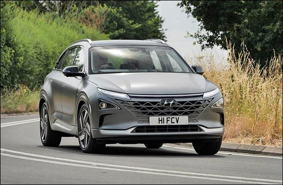 Hyundai NEXO awarded 'Alternative Energy Car Of The Year' Award at annual GQ Car Awards 2021