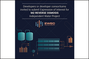 EWEC Invites Expression of Interest Submissions for the Development of M2 Reverse Osmosis (RO)  Inde ...
