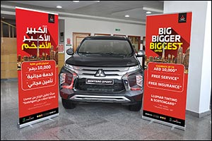 "The ""Big Bigger Biggest"" Offer is Back  Adding more Value for Mitsubishi customers  at Al  ..."