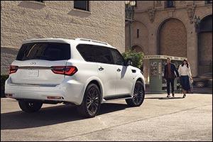 Envision the Infiniti QX80 Luxury SUV on Kuwait Roads