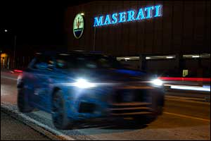 Maserati Employees Share the Very First Images  Of the Grecale SUV Prototype