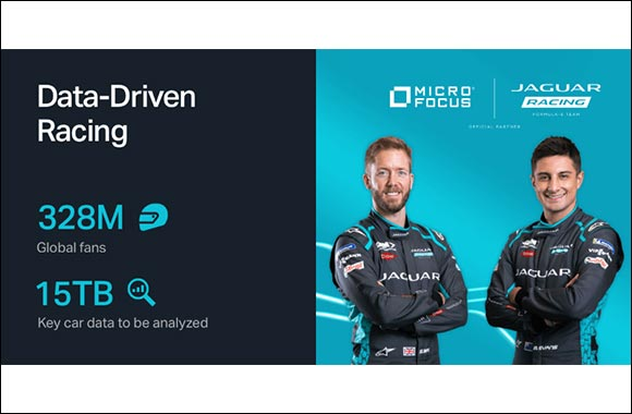 Jaguar Racing Welcomes Micro Focus as Official Technical Partner to Accelerate Performance on and Off Track