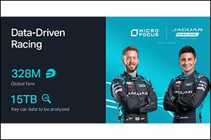 Jaguar Racing Welcomes Micro Focus as Official Technical Partner to Accelerate Performance on and Of ...