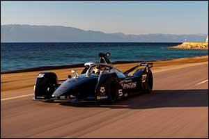 Mercedes-EQ Formula E Team Visits  NEOM Ahead of Diriyah E-prix