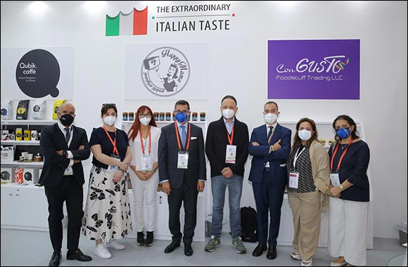 ITAlian Food Lab by ITA in Gulfood Connects people through Authentic Italian Dishes