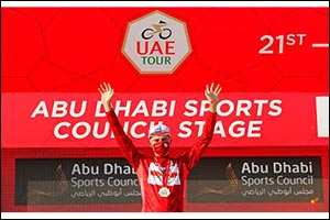 UAE Team Emirates Take Leaders Jersey After UAE Tour Second Stage