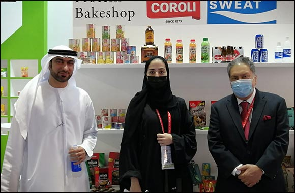 Al Maya Booth in Gulfood 2021