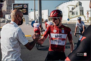 Pogačar Extends Contract With UAE Team Emirates Through to 2026