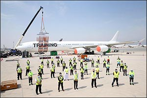 Qatar Airways Conducts its 12th Annual Disabled Aircraft Recovery Exercise at Doha International Air ...