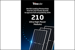 World's Leading PV Inverter and Tracker Brands to Launch Products Compatible with Trina Solar's 210  ...