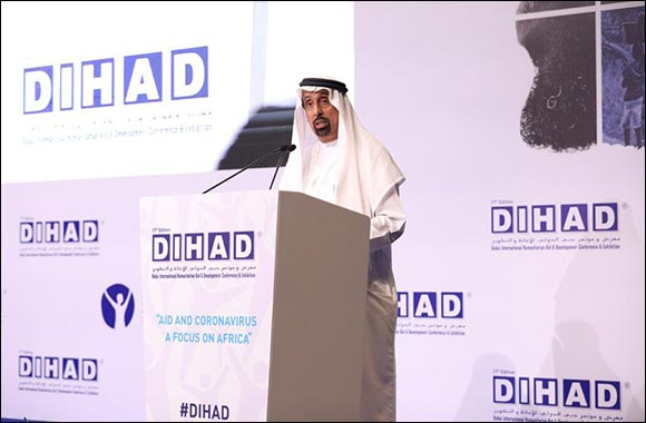 Her Excellency Hessa Bint Essa Buhumaid Officially Inaugurates the 17th Edition of DIHAD