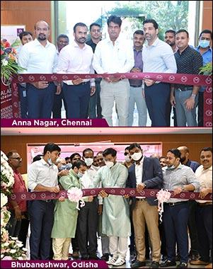 Malabar Gold & Diamonds Inaugurates 2 New Showrooms in Bhubaneshwar, Odisha and Anna Nagar, Chennai, India