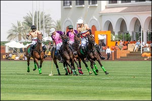 UAE Polo Claims Its Second Trophy in the Dubai Polo Gold Cup Series