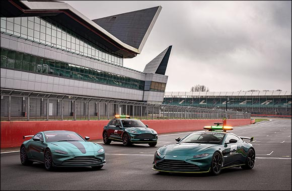 Introducing the Vantage F1® Edition:  Race-track performance on the Road