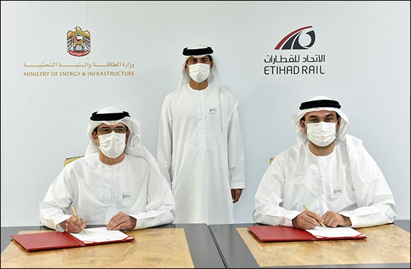 The Ministry of Energy and Infrastructure and Etihad Rail Partner for Issuances of Safety Permits on Stage Two of the UAE Rail Network
