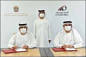 The Ministry of Energy and Infrastructure and Etihad Rail Partner for Issuances of Safety Permits on ...