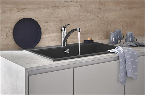 For the Modern Kitchen: New Grohe Eurosmart Faucets Combine Comfortable Functionality, Refreshed Design and Minimal Installation Effort