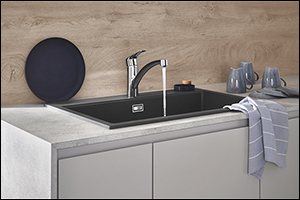 For the Modern Kitchen: New Grohe Eurosmart Faucets Combine Comfortable Functionality, Refreshed Des ...