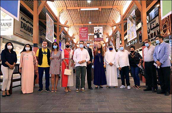 Iconic Dubai Gold Souk Brings Sky Art to All