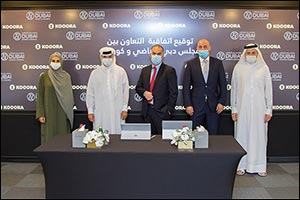 Dubai Sports Council Signs Cooperation Deal with Kooora