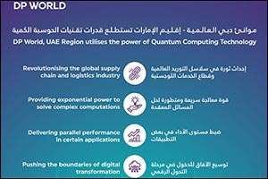 DP World, UAE Region Is the First in the Region to Explore the Quantum Computing Technology
